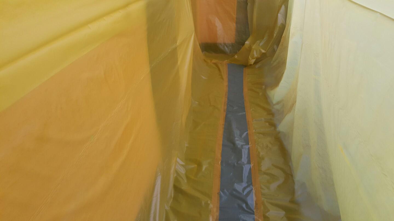 8 번째 사진  에  연면적 ㎡ 영도구 동삼초등학교 배관공사를 위해 석면철거