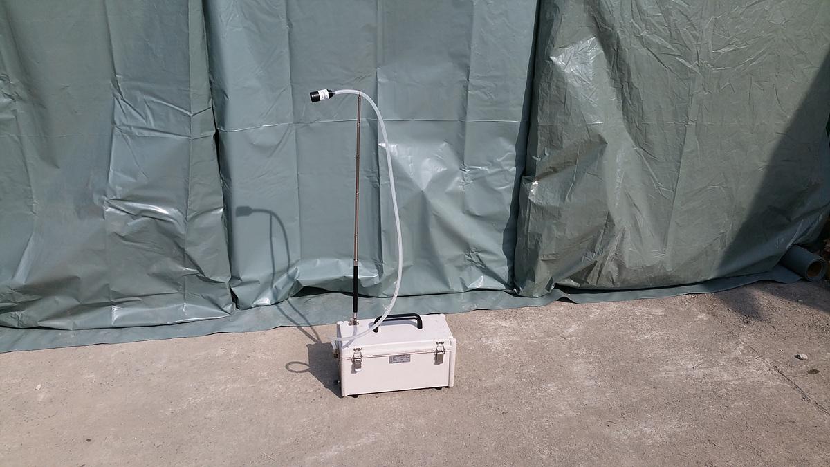 부산광역시 금정구 금강로 석면해체 공사에 따른 석면 비산농도 측정