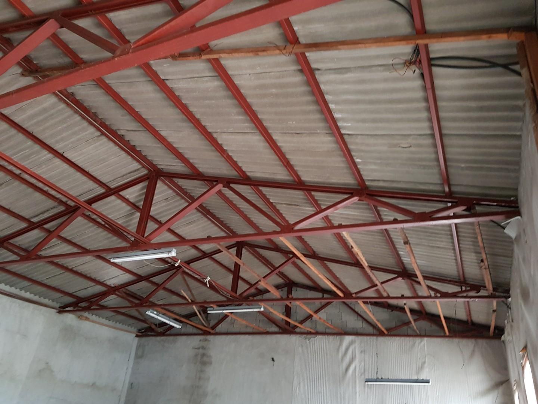 2 번째 사진  에  연면적243 ㎡ 경남 창녕군 대지면 슬레이트 지붕 석면처리 현장