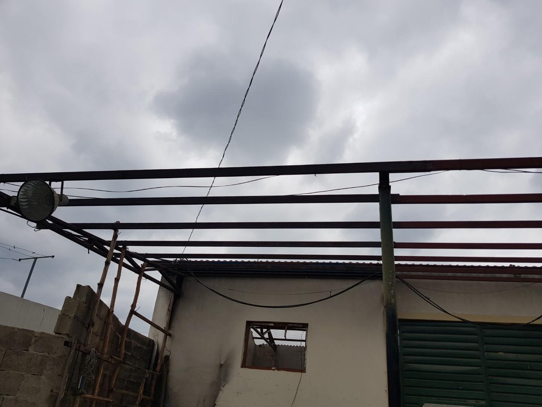 13 번째 사진  에  연면적243 ㎡ 경남 창녕군 대지면 슬레이트 지붕 석면처리 현장