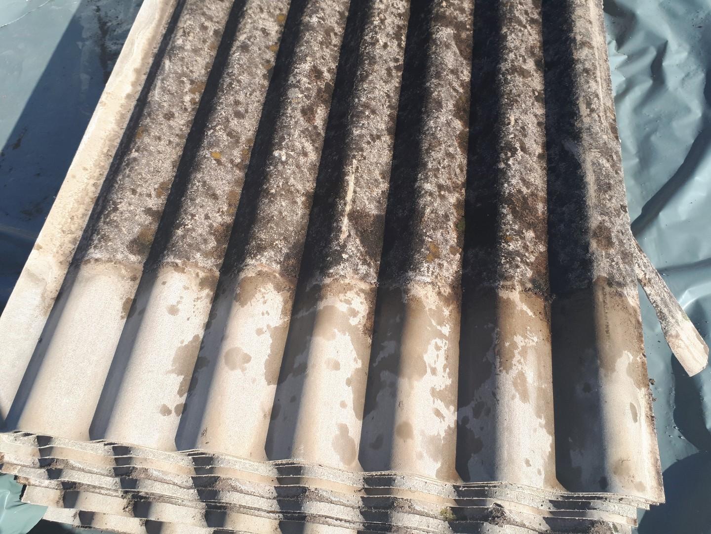 12 번째 사진  에  연면적44 ㎡ 경상남도 밀양시 청도면 축사 슬레이트지붕 석면처리