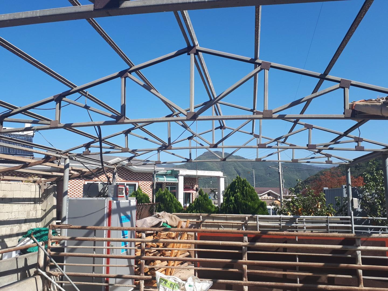 14 번째 사진  에  연면적44 ㎡ 경상남도 밀양시 청도면 축사 슬레이트지붕 석면처리
