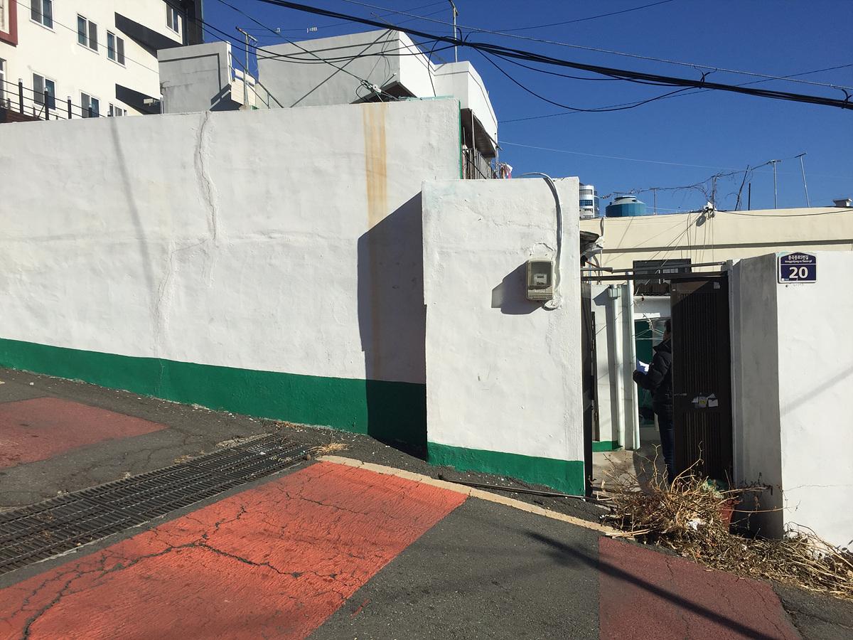 1 번째 사진 단독주택 에  연면적28.9 ㎡ 부산 동구 수정동 주택 석면조사