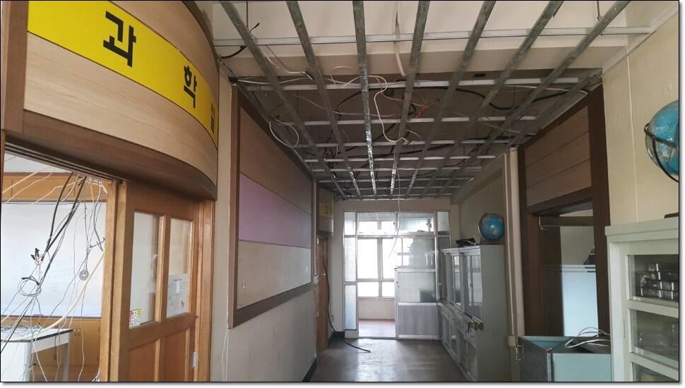 16 번째 사진  에  연면적100 ㎡ 부산 사상구 중학교 석면철거