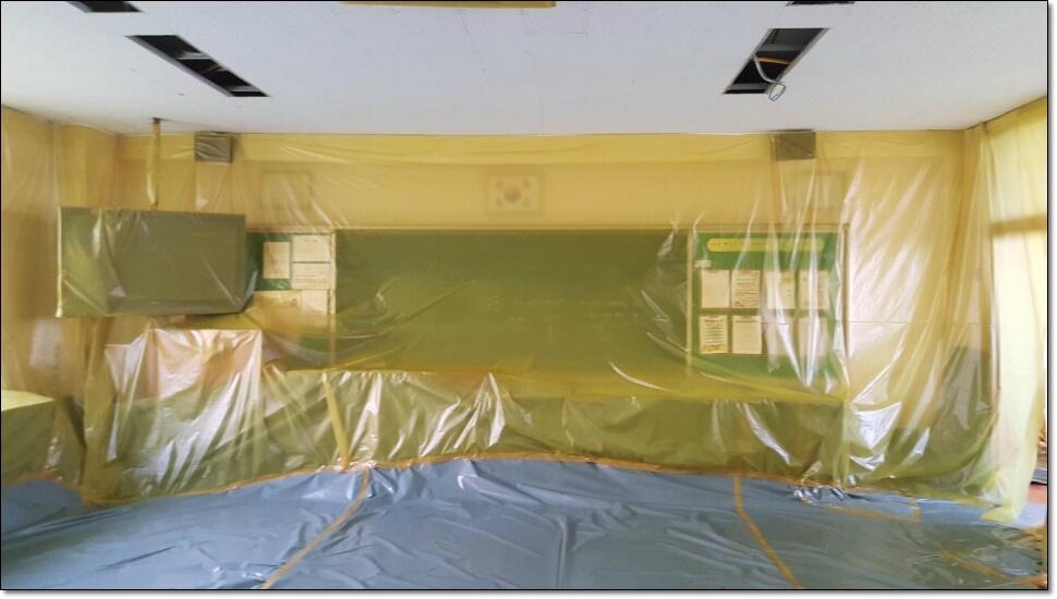 8 번째 사진  에  연면적100 ㎡ 부산 사상구 중학교 석면철거