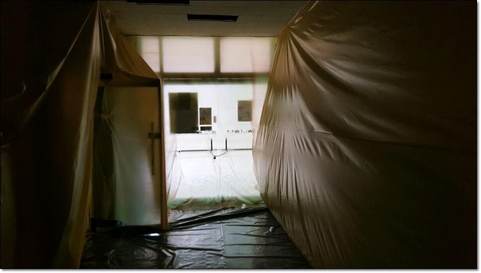 9 번째 사진  에  연면적100 ㎡ 부산 사상구 중학교 석면철거
