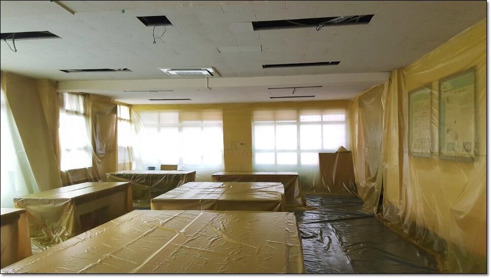 10 번째 사진  에  연면적100 ㎡ 부산 사상구 중학교 석면철거