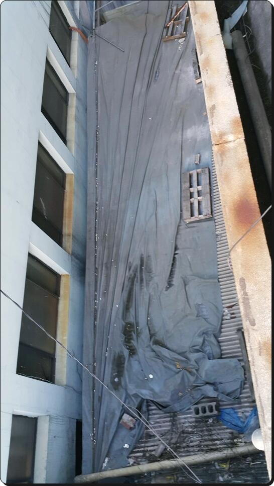 9 번째 사진  에  연면적 ㎡ 부산 사상구 슬레이트 철거 현장