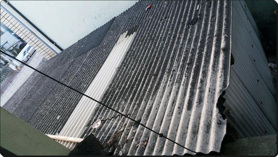 14 번째 사진  에  연면적 ㎡ 부산 사상구 슬레이트 철거 현장