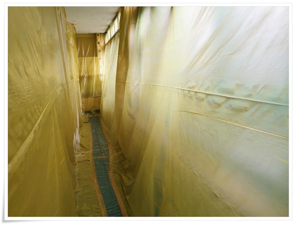 12 번째 사진  에  연면적 ㎡ 사하구 감천초등학교 병설유치원 석면 해체 공사