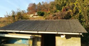 경남 밀양 삼랑진읍 검세리 슬레이트철거
