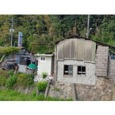 경남 남해군 남해읍 축사 석면철거 지붕재 슬레이트 석면해체 제거 현장